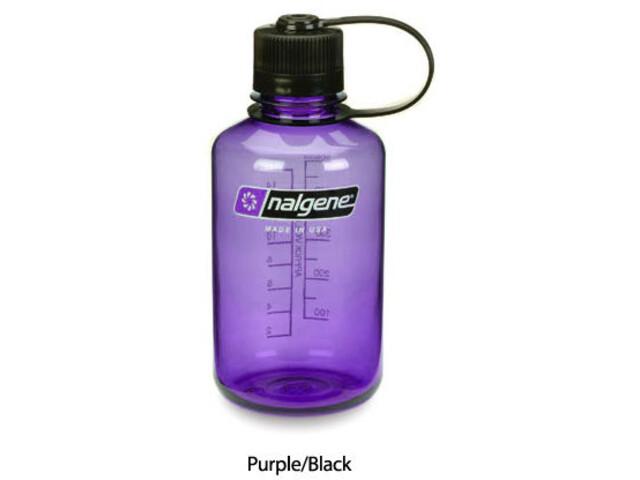 Nalgene 0,5L Narrow Mouth Bottles Purple/Black (2078-2035)